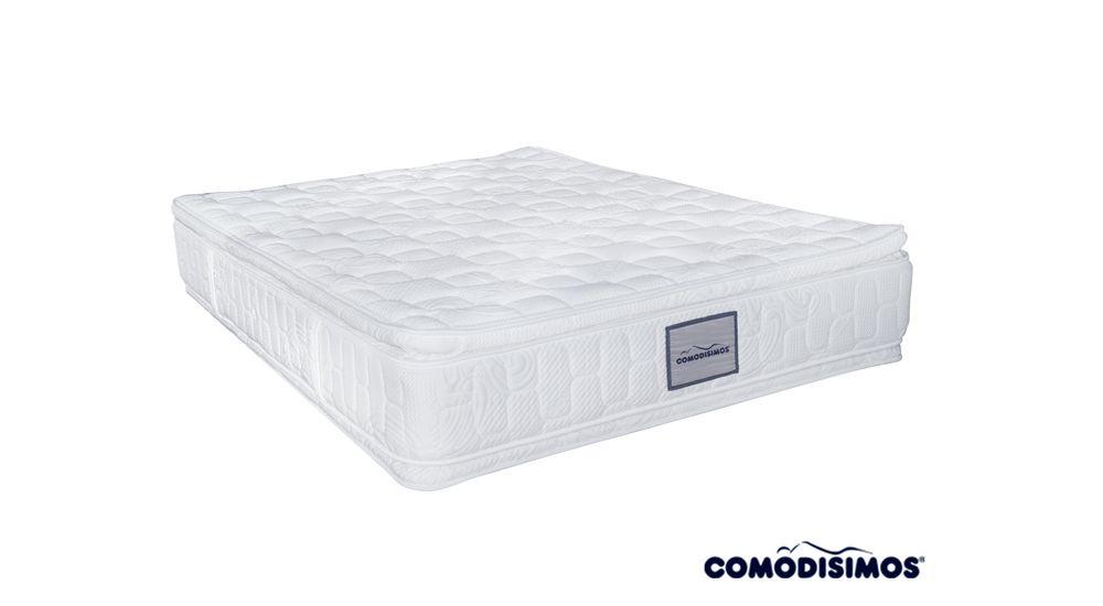 Colchón Gold Pillow Premium Foam Comodisimos - colchonescomodisimos